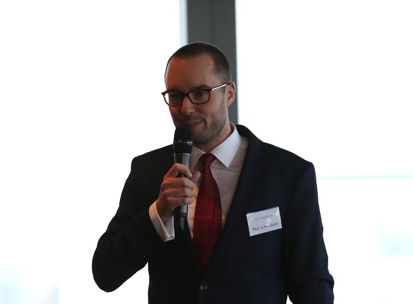 Martin Wohlrabe am Rechtskommunikationsgipfel 2017